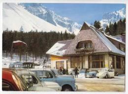 EUROPE SLOVENIA LJUBELJ THE RESTAURANT 1050 M BIG POSTCARD 1968. - Slovenia