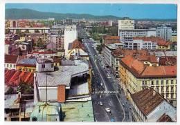 EUROPE SLOVENIA LJUBLJANA CITY AREA BIG POSTCARD 1970. - Slovenia