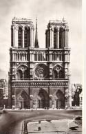Facade - Notre-Dame De Paris