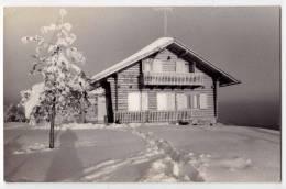 EUROPE SLOVENIA IVANCNA GORA  THE PARTIZAN HOME ON PRISTAVA 760 M POSTCARD 1958. - Slovenia