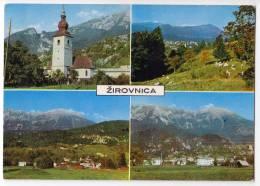 EUROPE SLOVENIA ZIROVNICA BIG POSTCARD 1971. - Slovenia