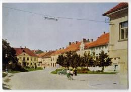 EUROPE SLOVENIA LJUTOMER CITY AREA BIG POSTCARD 1965. - Slovenia