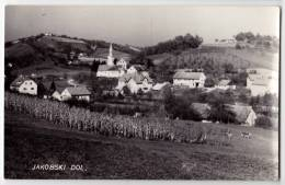 EUROPE SLOVENIA JAKOBSKI DOL THE CHURCH BIG POSTCARD 1969. - Slovenia