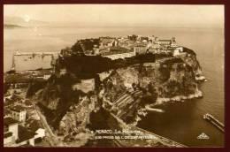 Cpa  Carte Photo De Monaco  Le Rocher  Vue Prise De L' Observatoire  SAB20 - Non Classés