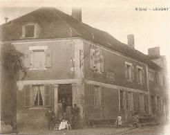 D89. LEUGNY.  ROUTE DE TOUCY. - Francia