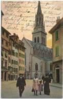 St.Gallen - St.Laurenzen Kirche          1905 - SG St. Gallen