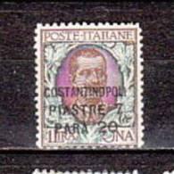 ITALY-OFF.ABROAD-CONSTANT INOPLE.-1922-Sc#.13-MINT NH VF-EURO 6.00.--SALE $ 2.00 - 11. Oficina De Extranjeros
