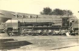 THEMES - TRAINS - Locomotives Du Sud Ouest - Machine 231 E 118 - Trains