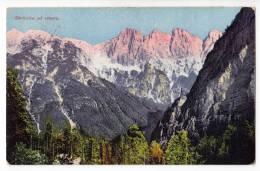 EUROPE SLOVENIA MOUNTAIN SKRLATICA AT NORTH OLD POSTCARD - Slovenia