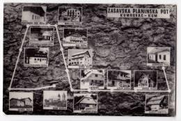 EUROPE SLOVENIA ZASAVSKA THE MOUNTAIN DIRECTIONS KUMROVAC-KUM POSTCARD 1964. - Slovenia