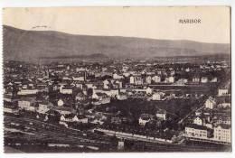 EUROPE SLOVENIA MARIBOR PANORAMA OLD POSTCARD 1925. - Slovenia