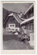 EUROPE SLOVENIA MOUNTAIN HOME ON PLANICA 964 M OLD POSTCARD 1947. - Slovenia