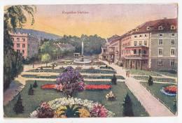 EUROPE SLOVENIA ROGASKA SLATINA THE PARK Nr. 9924 OLD POSTCARD 1928. - Slovenia