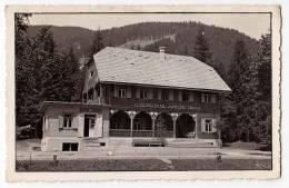 EUROPE SLOVENIA THE MOUNTAIN HOTEL TEODOR PRISTAVEC ML.ON KORENJSKEM SEDLU 1073 M OLD POSTCARD - Slovenia
