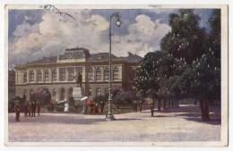 EUROPE SLOVENIA LJUBLJANA THE MUSEUM OLD POSTCARD 1934. - Slovenia