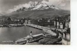 Luzern Mit Pilatus 1955 - LU Lucerne