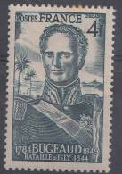FRANCIA 1944 .Nº YVERT 662.MARECHA BUGEAUD  HUELLA DE CHARNELA.FR.28 - France
