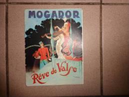 Programme Mogador-reve De Valse-merkes-merval-leriche-frederique-allard-roy-eymael Etc..pub Lame Le Coq - Programmes