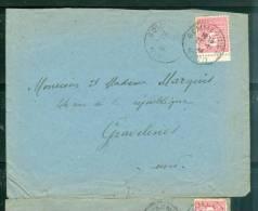 Yvert N°625 (arc De Triomphe) Sur Lettre Oblitéré Gommegnies Nord Le 27/11/1944 Pour Gravelines - Lp26445 - 1944-45 Arc De Triomphe