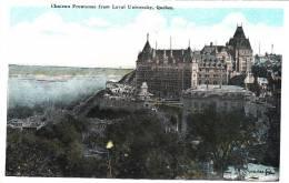 Québec - Château Frontenac From Laval University - Valentine´s & Sons - VG Condition - État TB - Québec - Château Frontenac