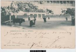 16399g MADRID - Corrida De Toros - Bombita En Un Pase Al Natural - 1901 - Madrid