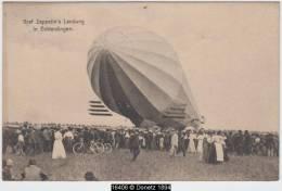 16406g Graf ZEPPELIN'S Landung In Echterdingen - Ostende Station - 1909 - Blankenberge