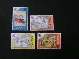 == Guyana UNO Lot 1979   Children  ** MNH - Guyana (1966-...)