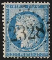 N°60C, Oblitéré GC 2328 MERY-SUR-SEINE (Aube) - TB - 1871-1875 Ceres