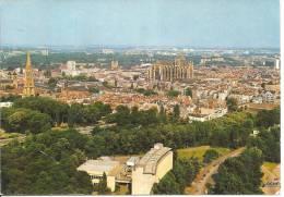 57 METZ  VUE AERIENNE    BELLE CARTE - Metz