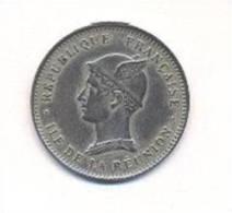 Réunion -  Bon Pour 50 Centimes   -  1896 -  Cuivre Nickel  -   TTB+ - Réunion