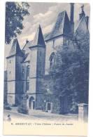 CPSM Bleutée Argentan Orne 61 Vieux Château Palais De Justice édit G Artaud N°8 Non écrite Dos Vert - Argentan