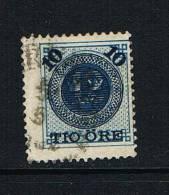 ZWEDEN   N° 39 MET OPDRUK NIEUWE WAARDE  - 1889 GESTEMPELD - ... - 1855 Préphilatélie