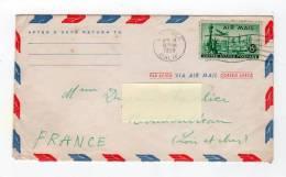 Dec12   58722  Enveloppe  Amérique 1958 - Autres