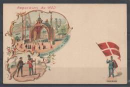 75 - PARIS - Exposition De 1900 - DANEMARK - Porte Principale De L'Exposition - Publicité Pierre Petit - Expositions
