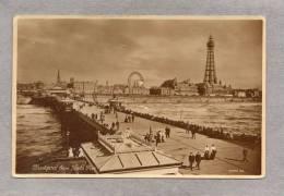 34407      Regno  Unito,  Blackpool  From  North Pier,  VG  1914 - Blackpool