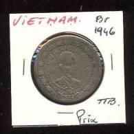 Viet Nam Communiste  -  2 Dong    -  1946  -  Bronze  -  TTB - Viêt-Nam