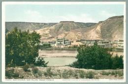 San Felipe Indian Pueblo Ca. 1920 Detroit Publishing Fred Harvey Postcard (kk-40) - Albuquerque