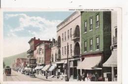 FRONT STREET LOOKINK WEST PITCAIRN PA (TRAMWAY) - Etats-Unis