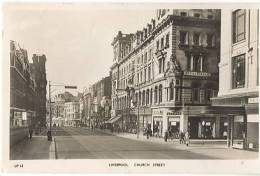 CPA - LIVERPOOL - CHURCH STREET - Edition Mason's - Liverpool