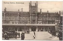 CPA - SHREWSBURY - RAILWAY STATION - Edition Valentine's Séries - Shropshire