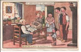 Le Laboureur Et Ses Enfants - Ceci Est Tout Le Secret De Mon Trésor - Contes, Fables & Légendes