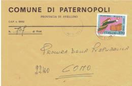 Comune Di Paternopoli Avellino - 1981-90: Marcofilie