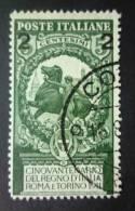 ITALIA 1913: Sassone 99b, Ciffre Spaziate, O - FREE SHIPPING ABOVE 10 EURO - Usados
