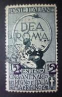 ITALIA 1913: Sassone 101b, Ciffre Spaziate, O - FREE SHIPPING ABOVE 10 EURO - Usados