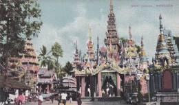 CPA BIRMANIE - RANGOON - YANGON - GREAT PARODA - Cartes Postales