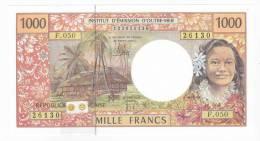 """Polynésie Française / Tahiti - 1000 FCFP / F.050 / 2012 / """"Nouvelles Signatures"""" - Neuf / Jamais Circulé - Papeete (Polynésie Française 1914-1985)"""