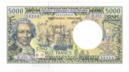 Polynésie Française / Tahiti - 5000 F CFP - Alphabet R.016 / 2012 / Signatures Barroux / Noyer / Besse - Neuf / UNC - Papeete (Polynésie Française 1914-1985)