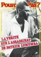 """Couverture De L´hebdomadaire Belge """"POURQUOI PAS"""" Avec Comme Sujet 'LA VERITE SUR L'ASSASSINAT DE PATRICE LUMUMBA' - Posters"""