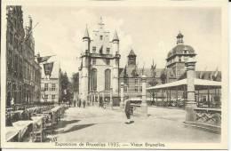 BELGIQUE . BRUXELLES .EXPOSITION  1935 . VIEUX BRUXELLES .  PALAIS DES DUCS DE BRABANT - Expositions Universelles