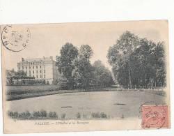 Falaise L Hopital Et Les Bercagnes Cpa Bon état - Falaise